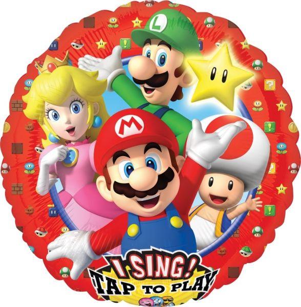 Musikballon Super Mario Brothers 71cm