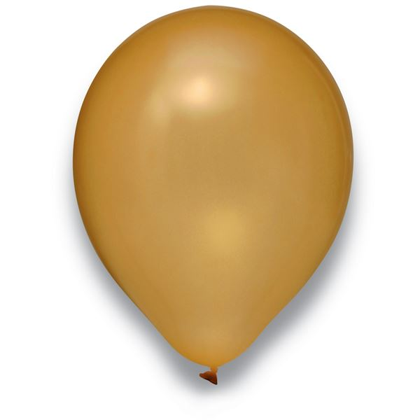 Latexballon Metallic Gold 50 Stück Ø 30cm