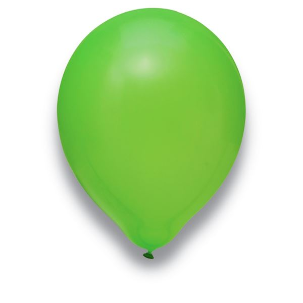 Luftballons Limonengrün 30cm 50 Stück