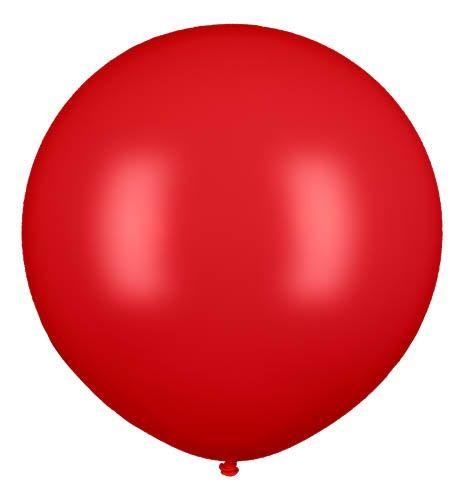 Latexballon Gigant Rot Ø 80cm