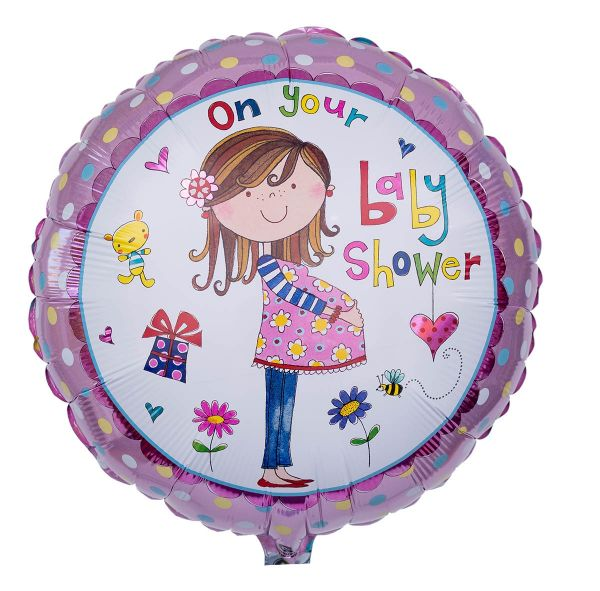 Folienballon Rachel Ellen Baby Shower 45cm
