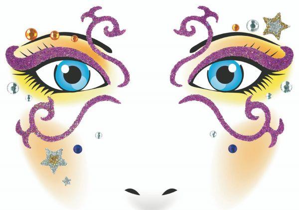 Face Art Sticker - Mystery