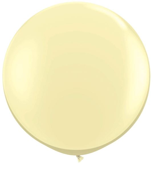 Qualatex Latexballon Gigant Ivory Silk Ø 90cm