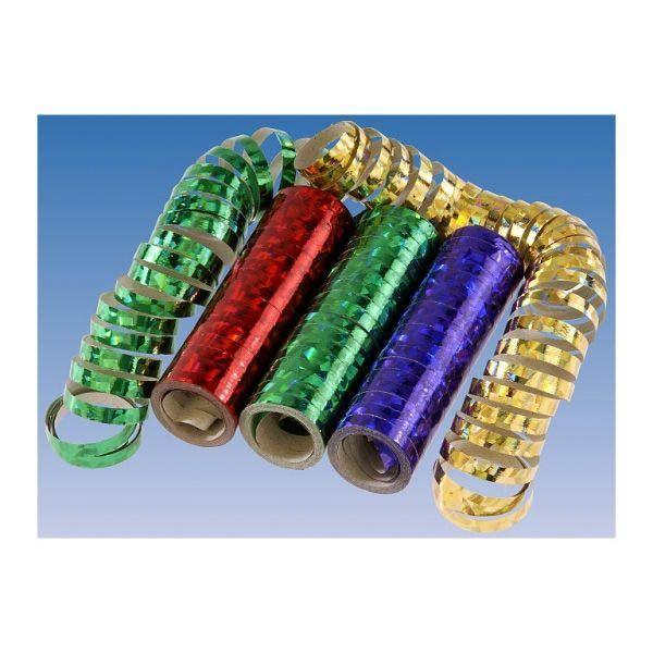 Multicolor - 3 Holo Luftschlangen