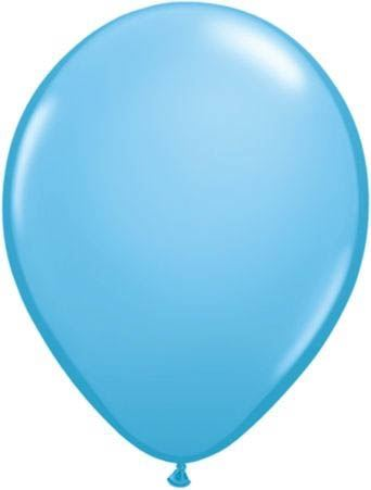 Qualatex Luftballon Babyblau 13cm