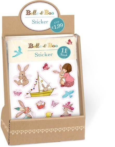 Belle & Boo - 11 Sticker