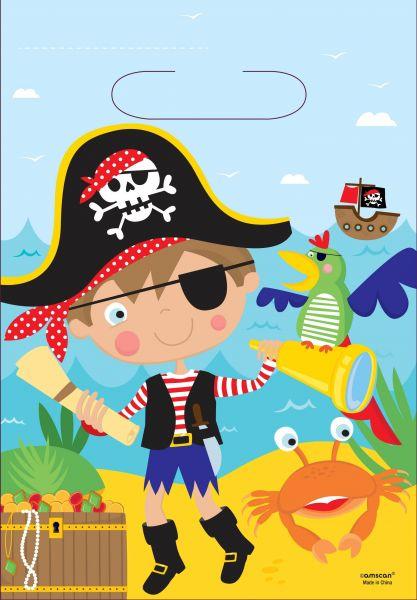 Kleiner Pirat - 8 Mitgebsel-Tüten