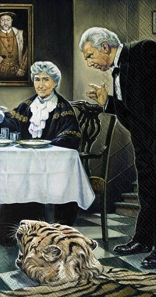 Dinner for One - 20 Buffet-Servietten