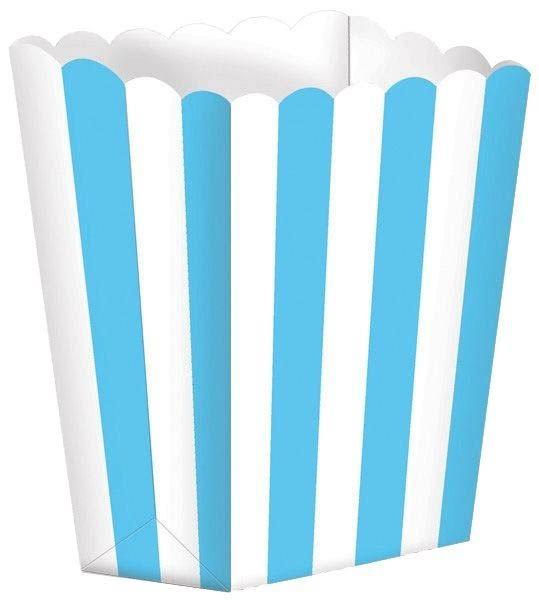 Karibik Blau - 5 Popcorn Tüten