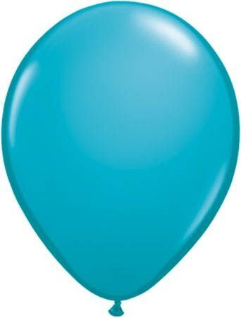 Qualatex Latexballon Tropical Teal Ø 30cm