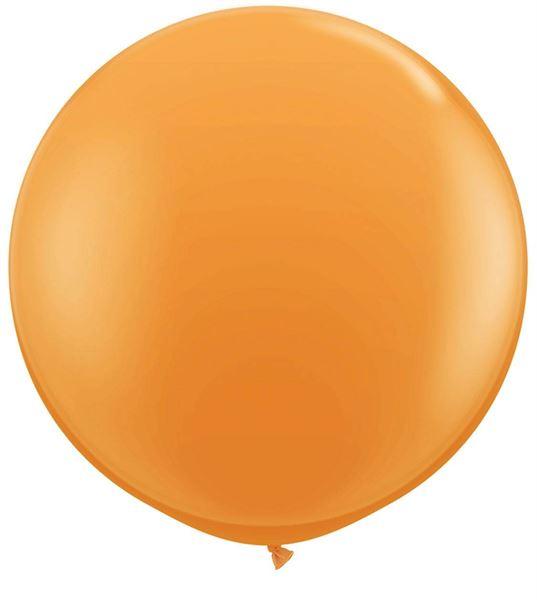 Qualatex Latex-Riesenballon Orange 90cm