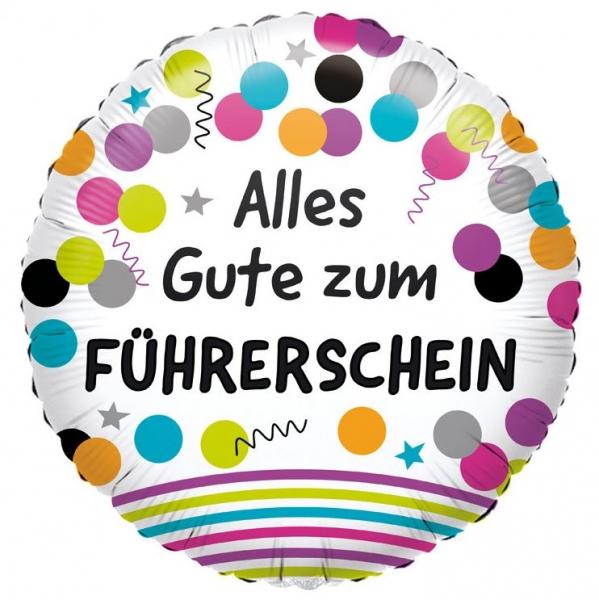 Ballon Zum Bestandenen Führerschein 45cm