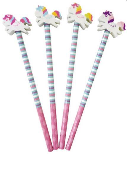 Einhorn - Bleistift mit Radiergummi