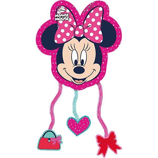 Minnie I love Dots - Pull-Pinata