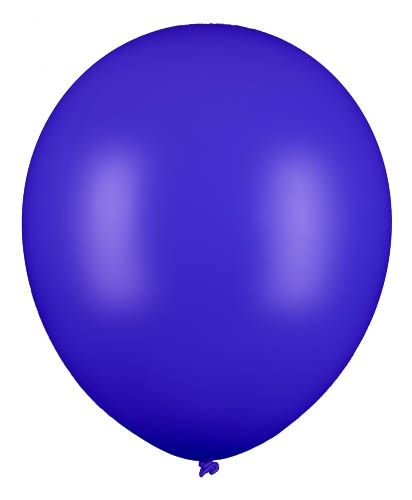 Latexballon Gigant Blau Ø 60cm