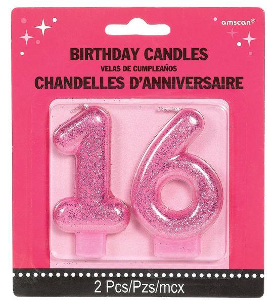 Sweet 16 - Geburtstagskerzen