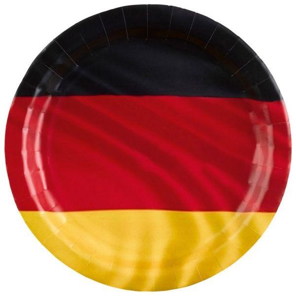 Deutschland - 8 Pappteller
