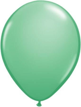 Qualatex Ballon Leuchtgrün 30cm