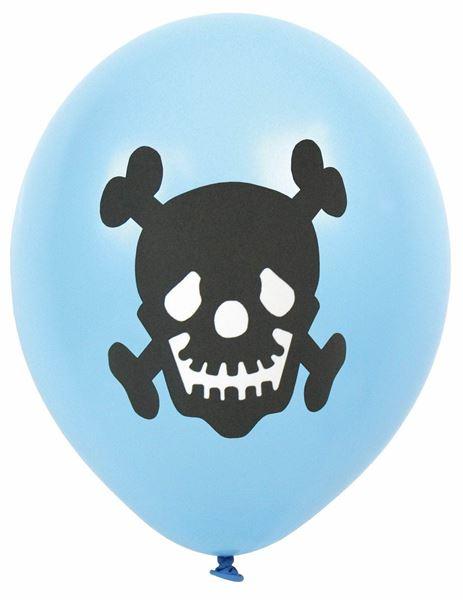 Piraten - 8 Latexballons Ø 30 cm