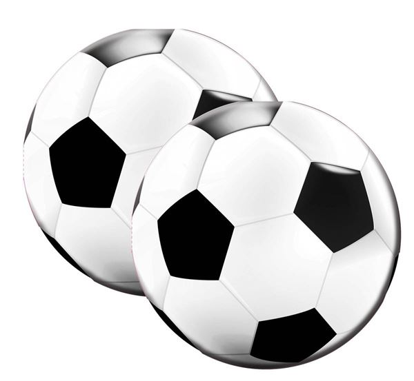 Fußball - 20 runde Servietten