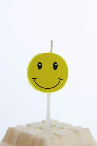 Kerze Smiley