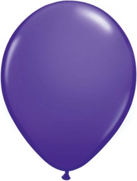 Qualatex Ballon Lila 30cm