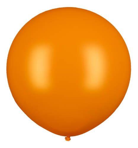 Latexballon Gigant Orange Ø 80cm