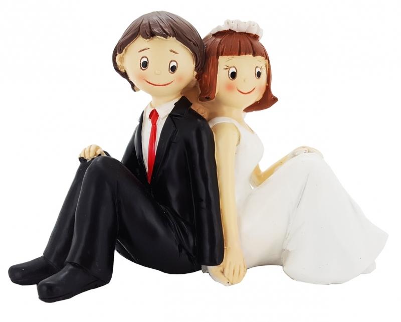 Figur Sitzendes Brautpaar Hochzeitstorten Amp Cupcakes