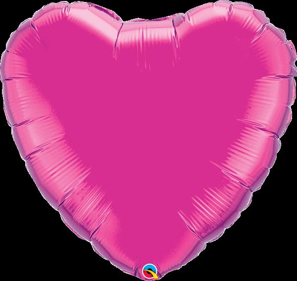 Folienballon Herz Pink 90 cm