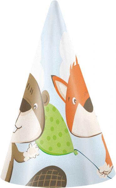 Fuchs & Biber - 8 Partyhütchen