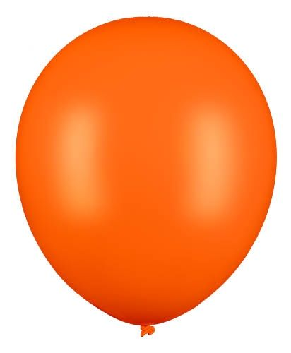 Latexballon Gigant Orange Ø 60cm
