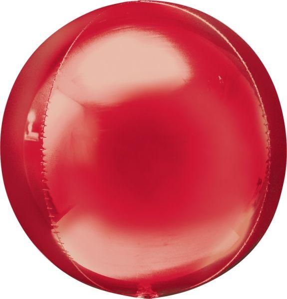 Orbz Ballon Rot 40cm