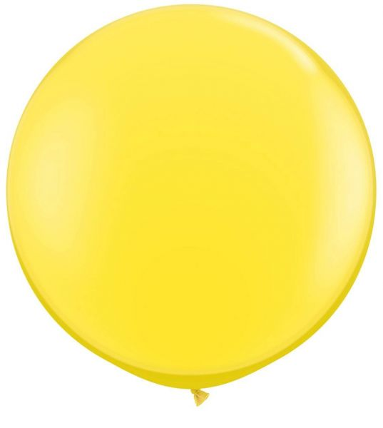 Qualatex Latexballon Gigant Yellow Ø 90cm