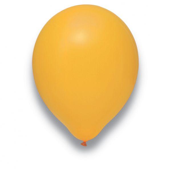 Latexballon Mandarine 100 Stück Ø 30cm