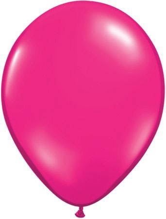 Qualatex Luftballon Pink 13cm