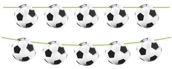 Fußball Girlande