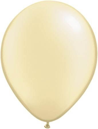 Qualatex Ballon Pearl Elfenbein 30cm