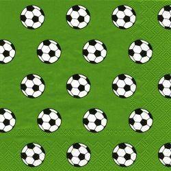 Fußball - 20 grüne Servietten