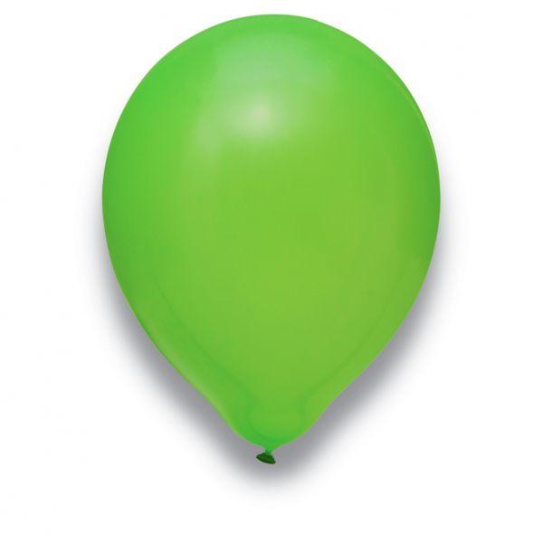 Latexballon Limonengrün 100 Stück Ø 30cm