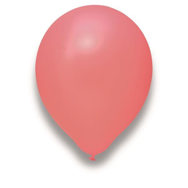 Latexballon Rosa 100 Stück Ø 30cm