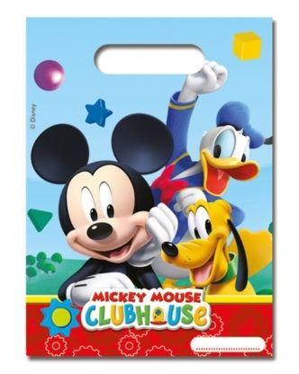 Mickey Mouse - 6 Mitgebsel-Tüten