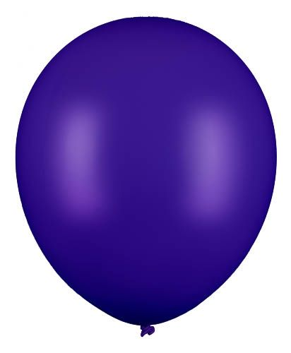 Latexballon Gigant Dunkelblau 60cm