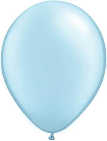 Qualatex Latexballon Pearl Light Blue Ø 40cm