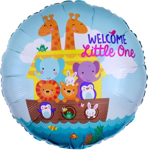 Folienballon Arche Noah Welcome Little One 43cm
