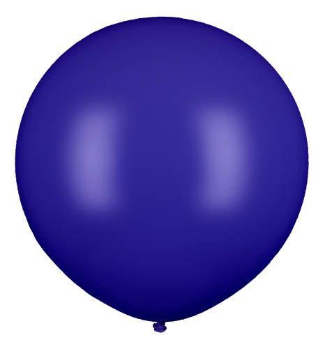Latexballon Gigant Dunkelblau Ø 80cm
