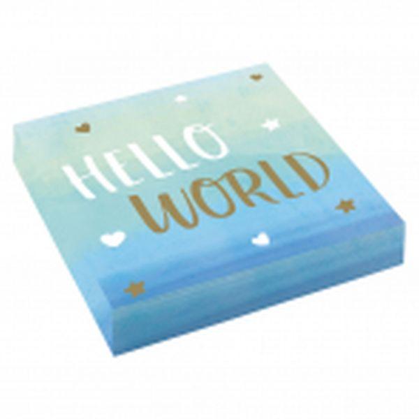 Hello World Boy - 16 Servietten