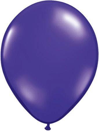 Qualatex Latexballon Quartz Purple 30cm