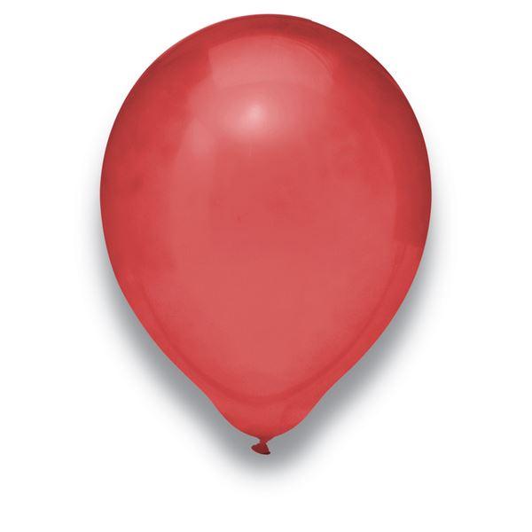 Luftballons Kristall Burgund 30cm 100 Stück