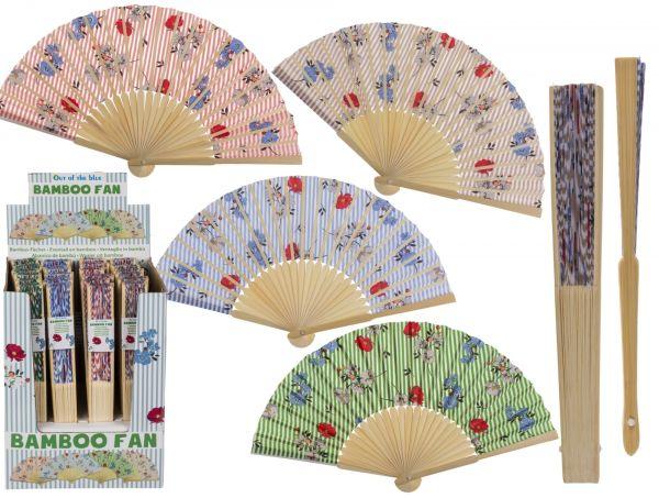 Bambus Fächer