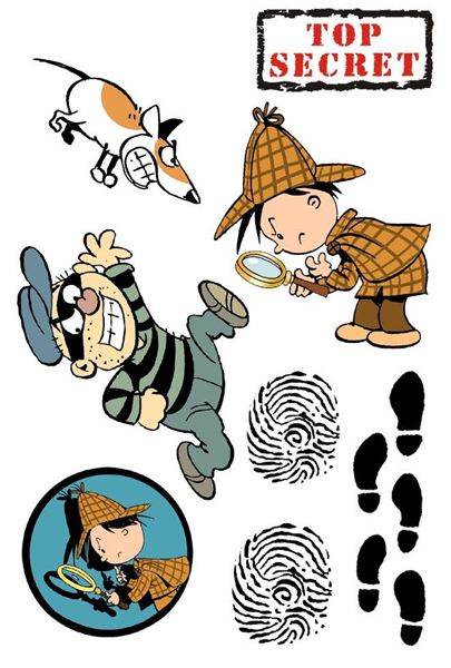 Detektiv Flo - Tattoos 1 Bogen